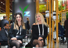 The hostesses of Yara Zaden.