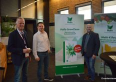 Wim Rademaker (Horticruitment) dropped by Willem-Jan de Kort and Pieter van Dongen with Haifa.
