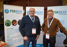 Wim van Garderen and Ron Ottenhof (Pireco Production)