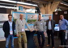 Job Bossers (JB Hydroponics) with his neighbors of AgrowSer: Jeroen van Leeuwen, John Duijvestijn, Eric van der Klauw and Frans Angelino (FS Europe).