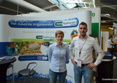 Kim Oosterom (Houweling Horticulture) and Harm Vogels (Intracare)