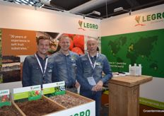 Joris Binck, Jacco Hoogendoorn and Eric Milants (Legro).