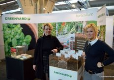 Els Thoelen and Daisy Stoop with Greenyard Horticulture. The new name is to be announced later this year.