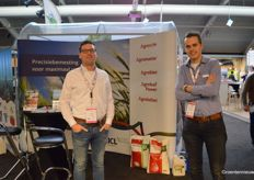 Roel Bloemert and Frank Duijzer (ICL Specialty Fertilizers)