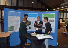 Busy in the stand of Wageningen University Research