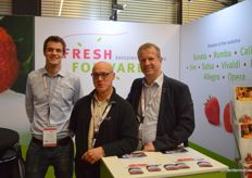 Koen Merkus (Fresh Forward Marketing), Philip Lieten (Fragana Holland) and Teunis Sikma (Fresh Forward Marketing)