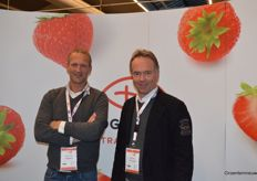 Jorrit de Vries (Planasa) and Wim Roosen (Dutch Plantin Coco Products)