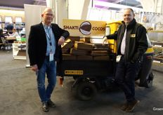 To the show, Peter Zethof and Jack van Batenburg of Shakti Cocos brought they're very own tuctuc.