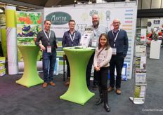 Javier Solano, Robin van Dreumel Duco van der Veen from Mivena were paid a visit by Paul Greenhalgh (PG Horticulture) the future of horticulture - represented by Sasha.