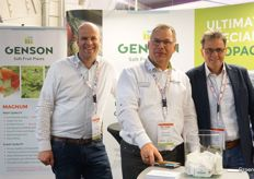 Marc van Gennip, Heiner Lenssen Ronald De Meester from Genson Soft Fruit Plants