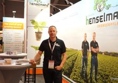 Joost Henselmans with Henselmans Strawberries