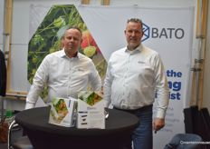 Gert-Jan Spierings and Raymond van Mierlo with BATO plastics