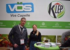 Jan Sneijders from VOS Capelle and Steffie Geerts from KLEP