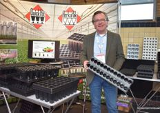 Alfred Boot, Herkuplast always likes to show the latest new cutting trays