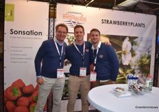 The Dreamteam of Goossens Flevoplant with Klaas Niewold, Erik Dekker and Roy Schoenmakers