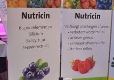 Nutricin, new in the PlantoSys assortment