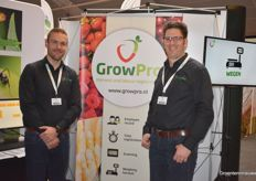 John Houben and Eric Gerbers with GrowPro