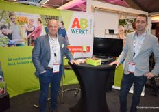 Paul Palmen and Mark Bus from AB Werken Zuid-Nederland. Ever since last years merger, there's 8 AB Werken branches throughout the South of the Netherlands