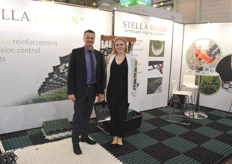 To prevent erosion of borders, parkinglots and other environments, Adam Zalewski and Monika Madejek from the Polish company Stella Green have the right solution.
