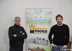 Flavio Cigalotto and Oliver Russo with MosaGreen company, specialised in professional gardening tools