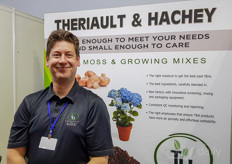 Jody Williston with Theriault Hachey Peat Moss, offering the moss growing mixes to help growers in Vietnam surrounding countries.