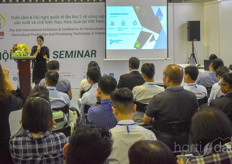 The seminars were visited by 100s of people.