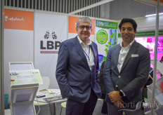 Anton Filippo with LBP (Logistics Business Partners) is joined by Manuel Madani of VNU Exhibitions.