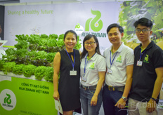 Last year Rijk Zwaan opened a subsidiary in Vietnam so the Rijk Zwaan team could not be missed.