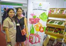 Nguyen The with Ant Farm grows fresh vegetables in Thailand.