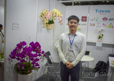 Yu-Wei Lin, Taiwan Floriculture Export Association.