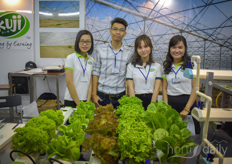 The Vietnamese company Kuji Greenhouse designs, builds and installes foil greenhouses in Vietnam.