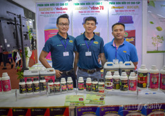 Le Duy Nhan Vu Truong Xuan with Vietnong Fertilizers, joined by Tyong Quag Caohj with FM Agtech.