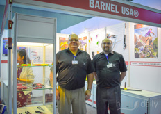 Karl Zeller David Horning with Barnel USA.
