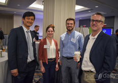 Gene Kim & Sarah Federman (USDA) in the photo with Matt Ravetier  & Chris Leishaar (Greens Do Good)