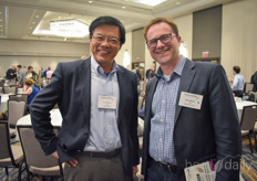 Charlie Wang (Oasis Biotech) & Mike Zelkind (80 Acres Farms)