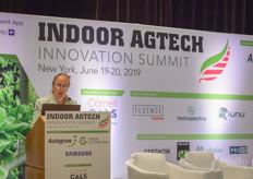 And let's go to the conference: Opening of the Indoor Agtech summit
