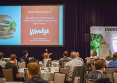 Discussing 'How Wendy's is partnering with greenhouse growers to deliver on its fresh promise'