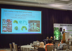 Price elaborated on 'What success is Asia having in taking indoor farming to an industrial scale?'