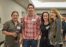 Adam DeMartino (Smallfold), Chris Manca, Jamie Forrest and Rachel Alkon from Whole Foods Market