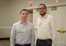 Ofer Tal (Genesis Premium Herbs and Yonah Tainsky (A+F)