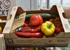 During the annual guided tours, guests are given gift boxes filled with Steiner vegetables