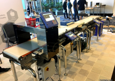 A D Australasia, showcased their metal detector and check weighers, which was useful following the strawberry tampering incident. It can pick up any metallic foreign object that should not be in produce packs.
