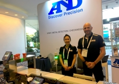 Sussan Nguyen and Julian Horsley from A D Australasia Pty Ltd