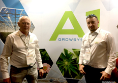 Geert Kuivenhoven and Gregor Madjak from A1 Growsystems Pty Ltd