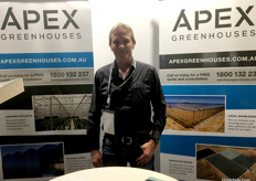 Peter Holwerda from Apex Greenhouses.