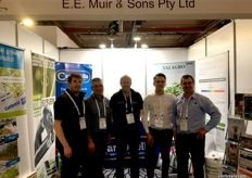 (L to R) James Muir from EE Muir Sons, Leon Atsalis from Eclipse Enterprises, Peter Hoeck from EE Muir Sons, Michiel Seignette from Sudlec, Heinrich van der Westhuizen from Valagro/EE Muir Sons.