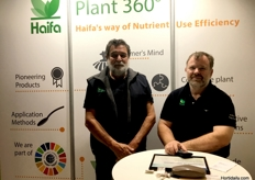 Peter Anderson and Trevor Dennis from Haifa Australia Pty Ltd.