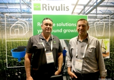 Marcus Ashley and Tim Lewis from Rivulis.