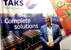Arie Meeuwissen from Taks Handling Systems.