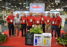 The team with Lambert Peat Moss. The fourth-generation family-owned business developing innovative sphagnum peat moss-based horticultural products is growing rapidly.